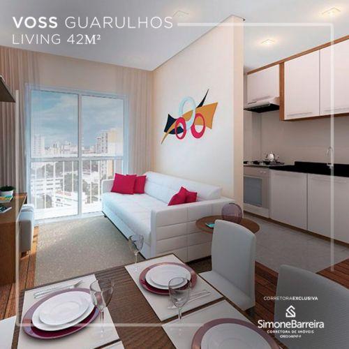 Lançamento Voss Guarulhos Mcmv Vila Augusta 2 dorms com terraço 419415
