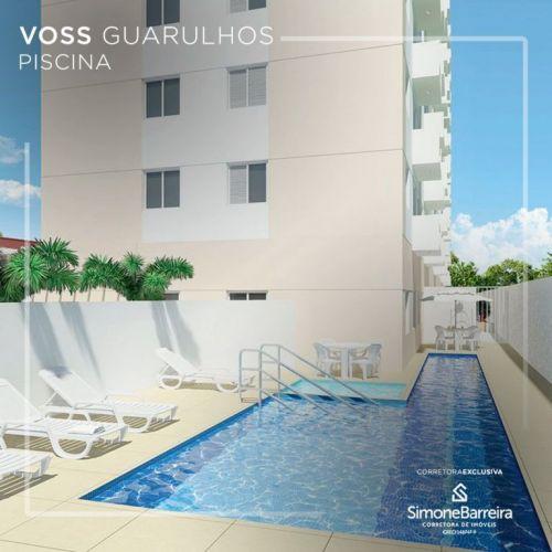 Lançamento Voss Guarulhos Mcmv Vila Augusta 2 dorms com terraço 423310