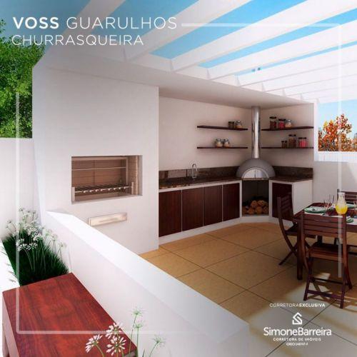 Lançamento Voss Guarulhos Mcmv Vila Augusta 2 dorms com terraço 423311