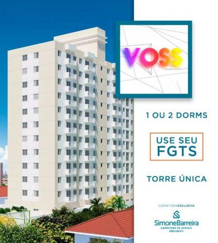 Lançamento Voss Guarulhos Mcmv Vila Augusta 2 dorms com terraço 423314