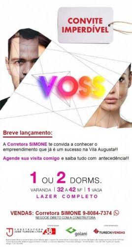 Lançamento Voss Guarulhos Mcmv Vila Augusta 2 dorms com terraço 427442