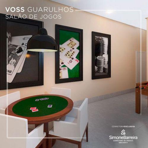 Lançamento Voss Guarulhos Mcmv Vila Augusta 2 dorms com terraço 427443