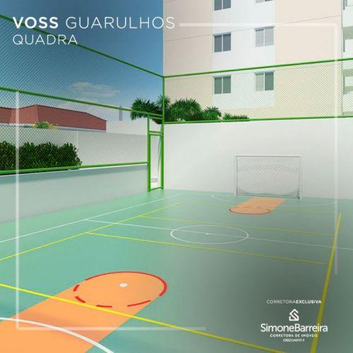 Lançamento Voss Guarulhos Mcmv Vila Augusta 2 dorms com terraço 427444