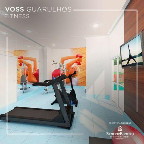 Lançamento Voss Guarulhos Mcmv Vila Augusta 2 dorms com terraço 427445