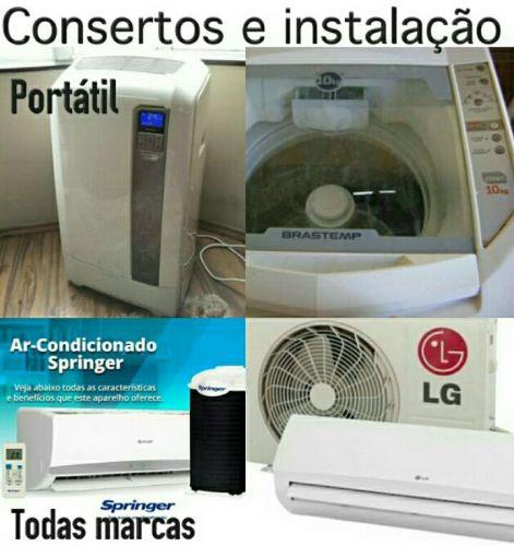 Lava e seca máquinas de lavar ar condicionado placas eletrônicas adegas de vinho consertos de todos eletrodomésticos. 484881