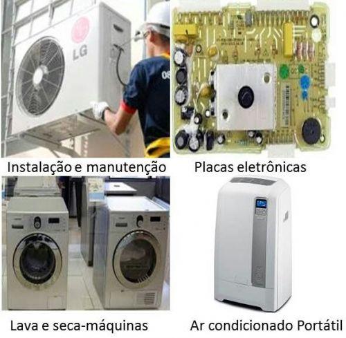 Lava e seca máquinas de lavar ar condicionado placas eletrônicas adegas de vinho consertos de todos eletrodomésticos. 485076