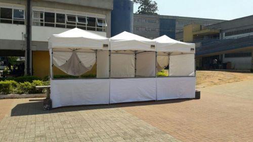 Locação de tendas de 2 x 2 - 3 x 3 sanfonada nova e segura  574989