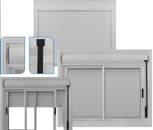 Manutenção em portas e janelas de alumínio com persiana integrada 392107