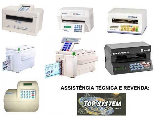 Máquina De Cheque Assistência Técnica Em Jundiaí 476107