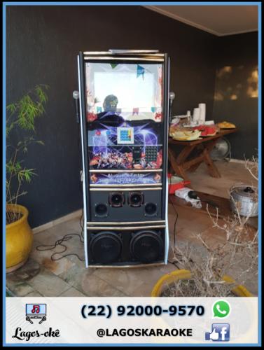 Máquina Karaokê Videoke Jukebox Região dos Lagos 518498