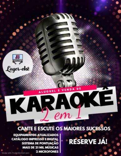Máquina Karaokê Videoke Jukebox Região dos Lagos 518501