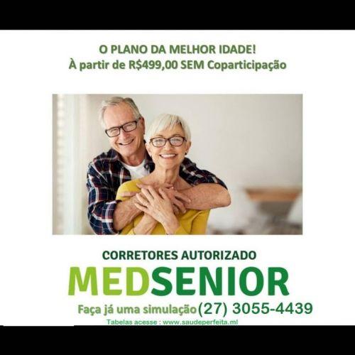 Medsenior Planos R$499 Faça o seu 27 99505-6839 523979