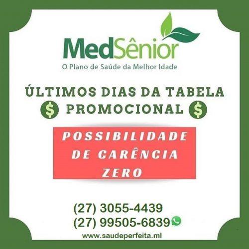 Medsenior Planos R$499 Faça o seu 27 99505-6839 523981