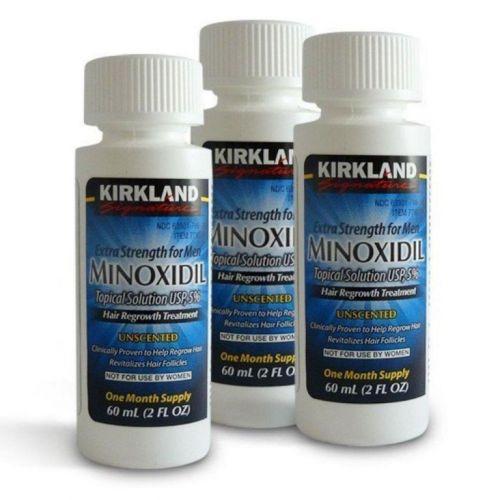 Minoxidil Kirkland Kit para 6 meses  Original  pronta entrega 403435
