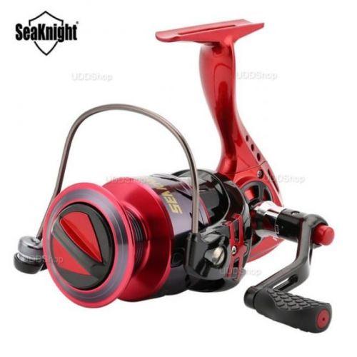Molinete de Pesca Profissional SeaKnight Puck 3000 10 Rolamentos Drag 6Kg Ratio 5.2:1 Peso 265g + Frete Grátis 503890