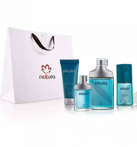 Natura Kaiak Perfume Kit Barba. Corpo. 404042