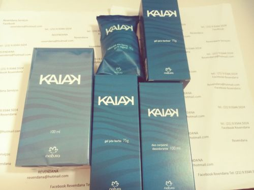 Natura Kaiak Perfume Kit Barba. Corpo. 433694
