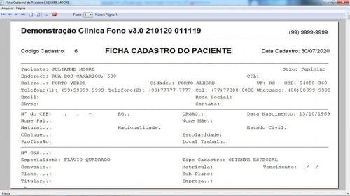 Programa Gerenciar Clinica Fonoaudióloga com Agendamento  Financeiro v3.0 Plus - Fpqsystem 579951