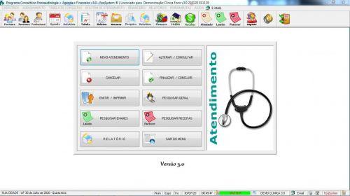 Programa Gerenciar Clinica Fonoaudióloga com Agendamento  Financeiro v3.0 Plus - Fpqsystem 579953