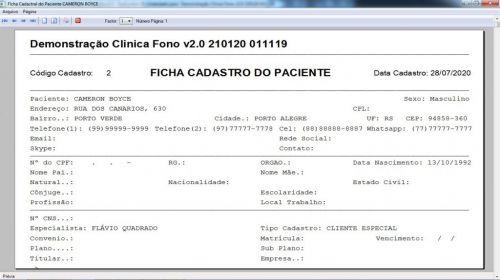 Programa Gerenciar Clinica Fonoaudióloga com Agendamento v2.0 - Fpqsystem 579931