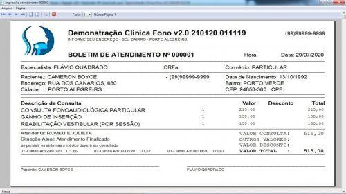 Programa Gerenciar Clinica Fonoaudióloga com Agendamento v2.0 - Fpqsystem 579932