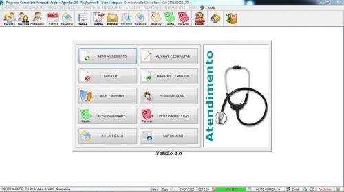 Programa Gerenciar Clinica Fonoaudióloga com Agendamento v2.0 - Fpqsystem 579933