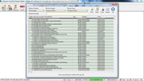 Programa Gerenciar Clinica Fonoaudióloga com Agendamento v2.0 - Fpqsystem 579936