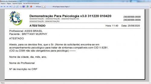 Programa Gerenciar Consultório Psicológico  Financeiro v3.0 Plus - Fpqsystem 578003