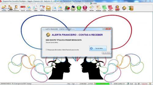 Programa Gerenciar Consultório Psicológico  Financeiro v3.0 Plus - Fpqsystem 578005