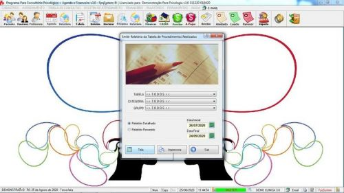 Programa Gerenciar Consultório Psicológico  Financeiro v3.0 Plus - Fpqsystem 578012