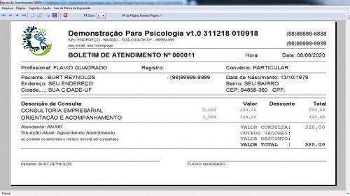 Programa Gerenciar Consultório Psicológico v1.0 - Fpqsystem 577964