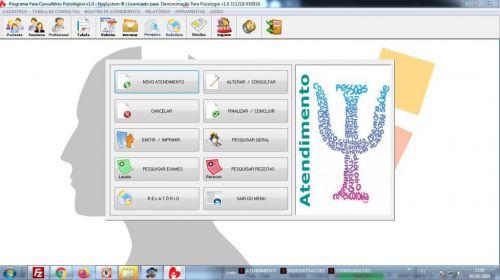 Programa Gerenciar Consultório Psicológico v1.0 - Fpqsystem 577965