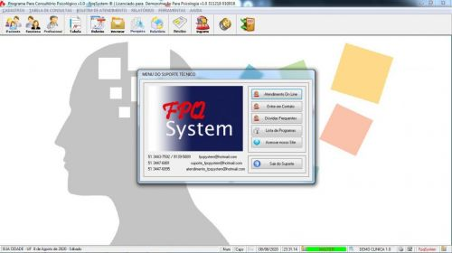 Programa Gerenciar Consultório Psicológico v1.0 - Fpqsystem 577971