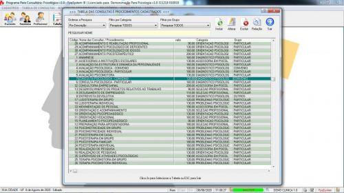 Programa Gerenciar Consultório Psicológico v1.0 - Fpqsystem 577972