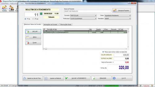 Programa Gerenciar Consultório Psicológico v1.0 - Fpqsystem 577973