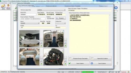Programa Ordem de Serviço para Oficina Nautica e Embarcação  Financeiro v2.0 - fpqsystem 577203