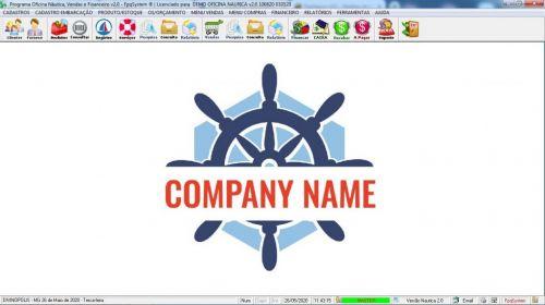 Programa Ordem de Serviço para Oficina Nautica e Embarcação  Financeiro v2.0 - fpqsystem 577206