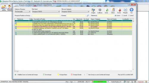 Programa Ordem de Serviço para Oficina Nautica e Embarcação  Financeiro v2.0 - fpqsystem 577211