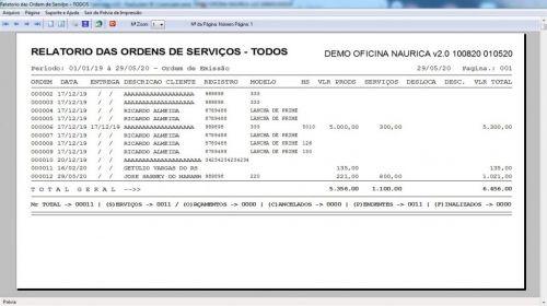 Programa Ordem de Serviço para Oficina Nautica e Embarcação  Financeiro v2.0 - fpqsystem 577213