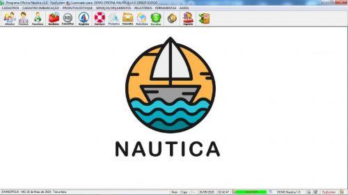 Programa Ordem de Serviço para Oficina Nautica e Embarcações  v1.0 - Fpqsystem 577184