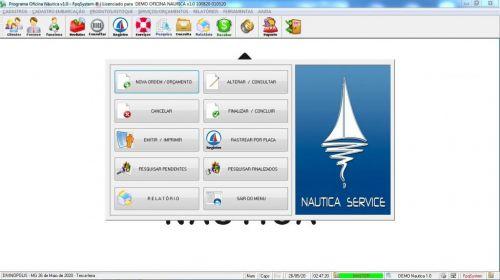 Programa Ordem de Serviço para Oficina Nautica e Embarcações  v1.0 - Fpqsystem 577188