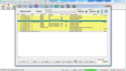Programa Ordem de Serviço para Oficina Nautica e Embarcações  v1.0 - Fpqsystem 577190