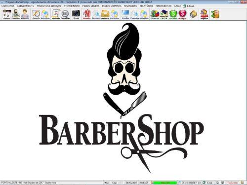 Programa para Barbearia Barbershop Agendamento Vendas e Financeiro v3.0 - Fpqsystem 408992