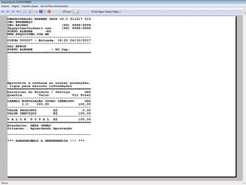 Programa para Barbearia Barbershop Agendamento Vendas e Financeiro v3.0 - Fpqsystem 409001