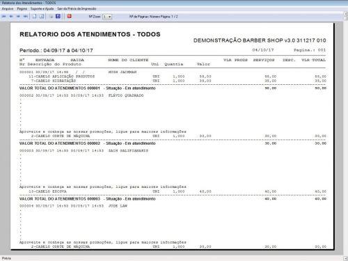 Programa para Barbearia Barbershop Agendamento Vendas e Financeiro v3.0 - Fpqsystem 409012