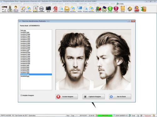 Programa Para Barbearia Barbershop Vendas e Financeiro v4.0 plus - Fpqsystem 409014