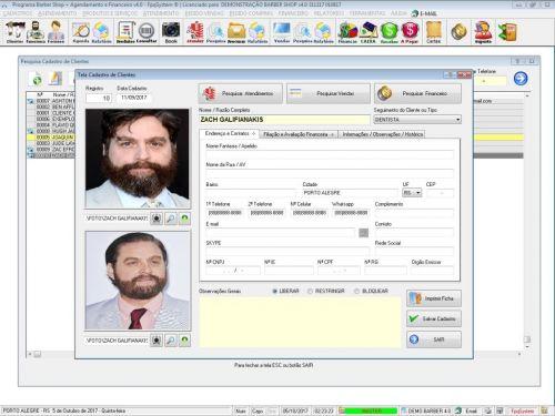 Programa Para Barbearia Barbershop Vendas e Financeiro v4.0 plus - Fpqsystem 409019