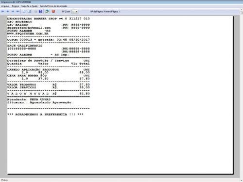 Programa Para Barbearia Barbershop Vendas e Financeiro v4.0 plus - Fpqsystem 409022
