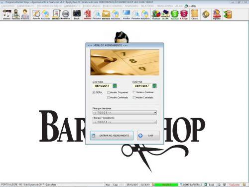 Programa Para Barbearia Barbershop Vendas e Financeiro v4.0 plus - Fpqsystem 409030