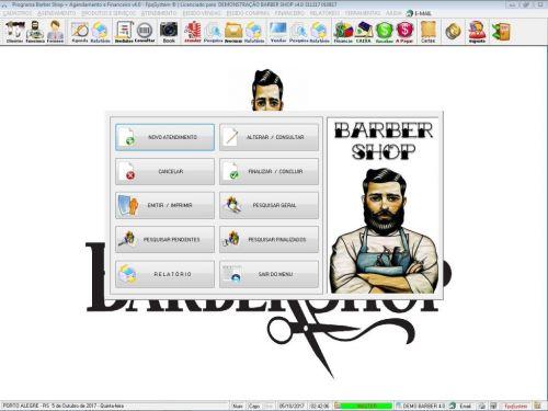 Programa Para Barbearia Barbershop Vendas e Financeiro v4.0 plus - Fpqsystem 409032